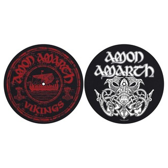 podložka na gramofón (set 2 ks) Amon Amarth - Vikings - RAZAMATAZ, RAZAMATAZ, Amon Amarth
