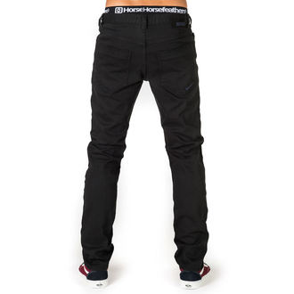 nohavice pánske (jeans) HORSEFEATHERS - NATE DENI - BLACK, HORSEFEATHERS
