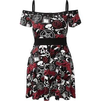 šaty dámske KILLSTAR - ROB ZOMBIE - Spookshow - BLACK, KILLSTAR, Rob Zombie