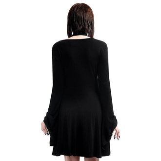 šaty dámske KILLSTAR - Spyda Lace-Me-Up - Black, KILLSTAR