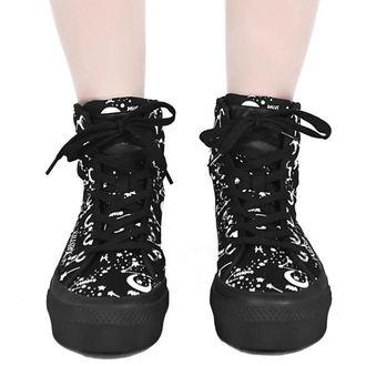 topánky dámske KILLSTAR - Starmap - BLACK, KILLSTAR