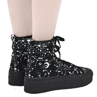 topánky dámske KILLSTAR - Starmap - BLACK