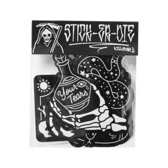 nálepky KILLSTAR - Stick It Sticker - BLACK, KILLSTAR