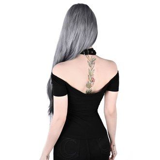 tričko dámske (top) KILLSTAR - Sundown Halter - BLACK, KILLSTAR