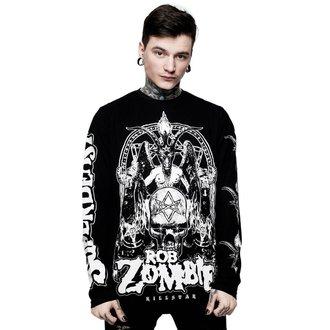 tričko pánske s dlhým rukávom KILLSTAR - ROB ZOMBIE - Superbeast - BLACK, KILLSTAR, Rob Zombie