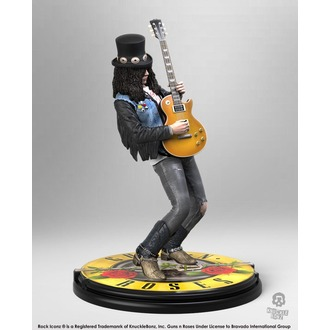figúrka Guns N' Roses - Slash - Rock Iconz - KNUCKLEBONZ, KNUCKLEBONZ, Guns N' Roses