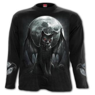 tričko pánske s dlhým rukávom SPIRAL - VAMP CAT, SPIRAL