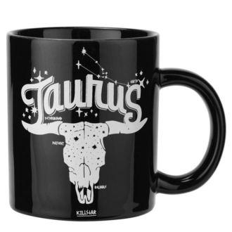 hrnček KILLSTAR - Taurus - BLACK, KILLSTAR