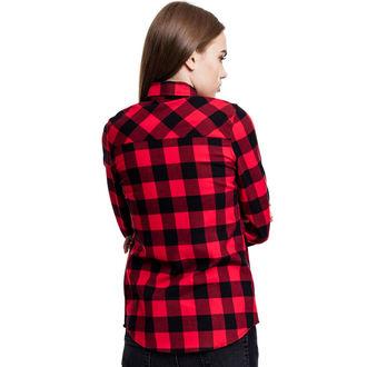 košele dámska URBAN CLASSICS - Turnup Checked Flannel, URBAN CLASSICS