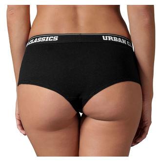 nohavičky dámske (sada 2 kusov) URBAN CLASSICS - Logo, URBAN CLASSICS