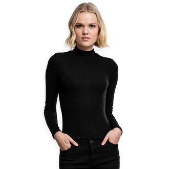 tričko dámske s dlhým rukávom URBAN CLASSICS - black, URBAN CLASSICS