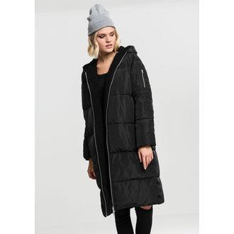 kabát dámsky URBAN CLASSICS - Puffer - black/black, URBAN CLASSICS