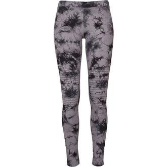 nohavice dámske (legíny) URBAN CLASSICS - Biker Batik - grey / black, URBAN CLASSICS