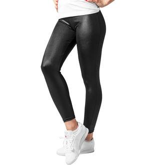 nohavice dámske (legíny) URBAN CLASSICS - Leather lmitation, URBAN CLASSICS