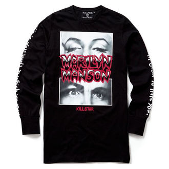tričko unisex s dlhým rukávom KILLSTAR - MARILYN MANSON - This Is Your World - Black - K-TSH-U-2507