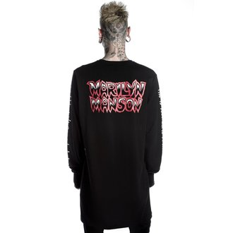 tričko unisex s dlhým rukávom KILLSTAR - MARILYN MANSON - This Is Your World - Black, KILLSTAR, Marilyn Manson