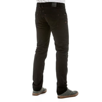 nohavice pánske (jeans) NUGGET - Tremor - 1/7/38, D - Black, NUGGET