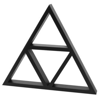dekorácia KILLSTAR - Triangle Wall Shelf, KILLSTAR