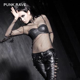 tričko dámske s dlhým rukávom PUNK RAVE - MeshMerizer, PUNK RAVE