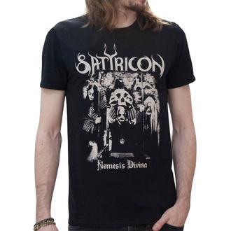 tričko pánske SATYRICON - Nemesis Reduced - Black, NNM, Satyricon