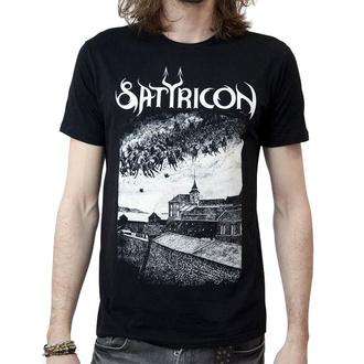 tričko pánske SATYRICON - Oskoreia - BLACK w/ back print, NNM, Satyricon