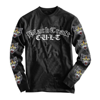 tričko pánske s dlhým rukávom BLACK CRAFT - Hell Cat, BLACK CRAFT