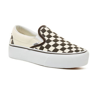 topánky dámske VANS - UA CLASSIC SLIP-ON P Blk WhtCh, VANS