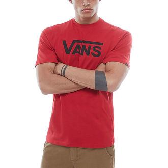 tričko pánske VANS - MN CLASSIC - chili pepper, VANS