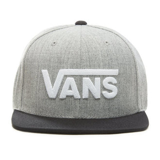 šiltovka VANS - MN DROP V II SNAPBACK - Heather G, VANS
