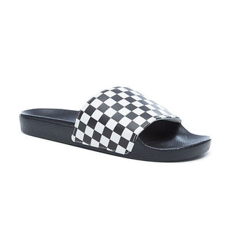 sandále pánske VANS - Slide-On (Checkerboard) - Black/White, VANS
