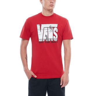 tričko pánske VANS - MN SECURITY - Chili Pepper, VANS