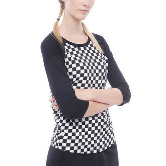 tričko dámske s 3/4 rukávom VANS - WM CHECKS RAGLAN - CHECKERBOARD, VANS