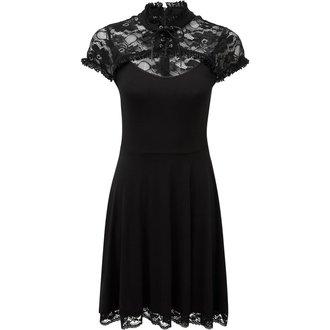 šaty dámske KILLSTAR - VALERIAN - BLACK, KILLSTAR