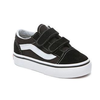 topánky detské VANS - UY OLD Skool V Black / True White, VANS