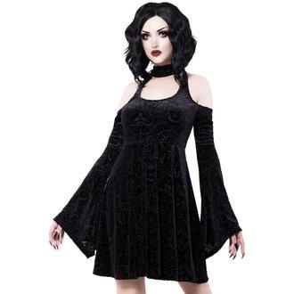 šaty dámske KILLSTAR - Vela - BLACK, KILLSTAR