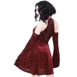 šaty dámske KILLSTAR - Vela - WINE, KILLSTAR