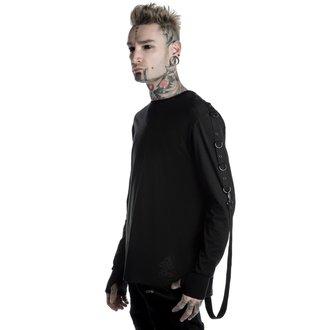 tričko pánske s dlhým rukávom KILLSTAR - Vengeance - Black, KILLSTAR