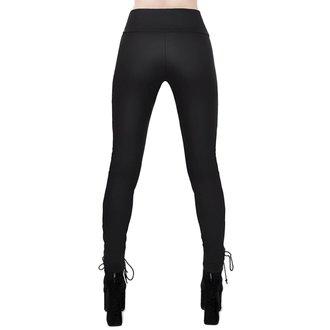 nohavice dámske (legíny) KILLSTAR - Viper Lace-Up, KILLSTAR
