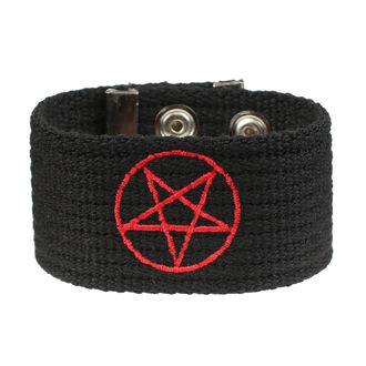 náramok Pentagram, BLACK & METAL
