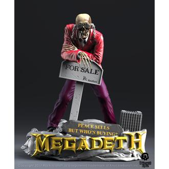 figúrka (dekorácia) Megadeth - KNUCKLEBONZ - Peace Sells - Vic RattleHead 2, KNUCKLEBONZ, Megadeth