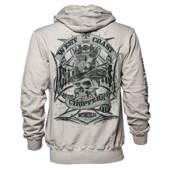 mikina pánska West Coast Choppers - CASH ONLY - Vintage grey, West Coast Choppers