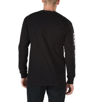 tričko pánske s dlhým rukávom VANS - WORLDS - BLACK, VANS