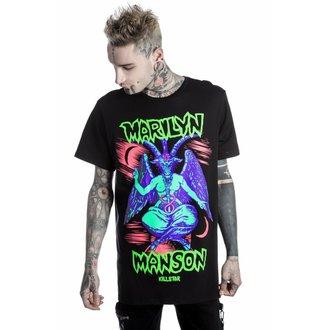 tričko unisex KILLSTAR - MARILYN MANSON - When I'm God - Black
