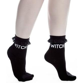 ponožky (set 3 párov) KILLSTAR - Witchy Bitchy - Black, KILLSTAR