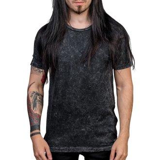 tričko pánske WORNSTAR - Essentials - Black Mineral, WORNSTAR