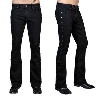 nohavice pánske (jeans) WORNSTAR - Gauntlet Skull - Black, WORNSTAR