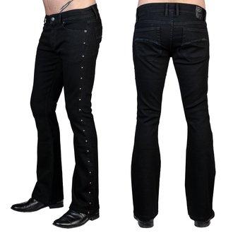 nohavice pánske (jeans) WORNSTAR - Gauntlet - Black, WORNSTAR