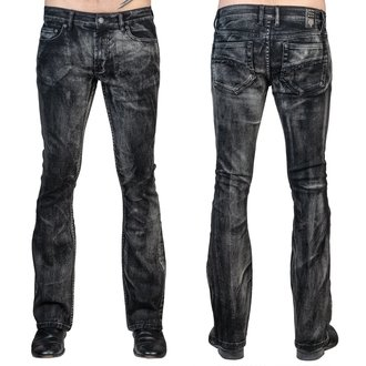 nohavice pánske (jeans) WORNSTAR - Hellraiser Smoke - Black, WORNSTAR