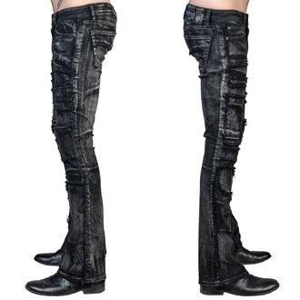 nohavice pánske (jeans) WORNSTAR - Remnant - Black, WORNSTAR
