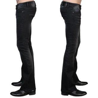 nohavice pánske (jeans) WORNSTAR - Hellraiser - Vintage Black, WORNSTAR